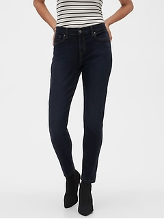 Petite Skinny Dark Wash Soft Touch Jean