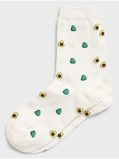 Avocado Trouser Socks