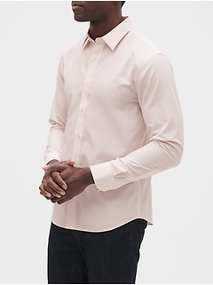 Slim-Fit Untucked Non-Iron Shirt
