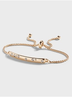 Laguna Bar Pull Through Bracelet
