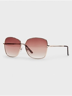 Metal Cateye Sunglasses