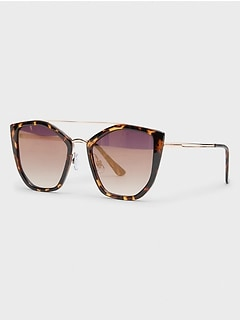 Tortise Reflective Sunglasses