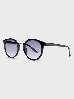 Eyebrow Round Sunglasses