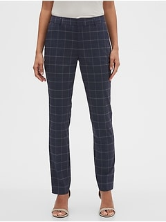 Washable Curvy Ryan Glenplaid Suit Pant