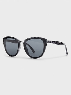 Grey Tortise Cateye Sunglasses