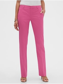 Washable Logan Pink Suit Pant