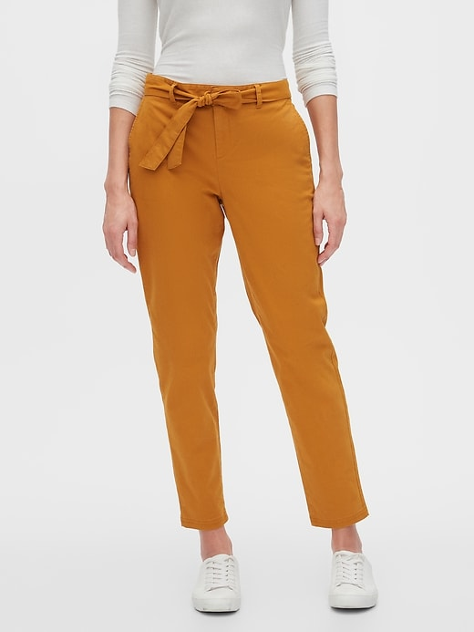 Banana Republic Women's Chino Tie-Waist Pant