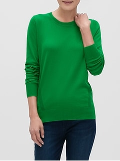 Washable Forever Crew-Neck Sweater