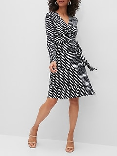 Petite Wrap Dress