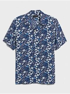 Standard-Fit Rayon Vacation Shirt