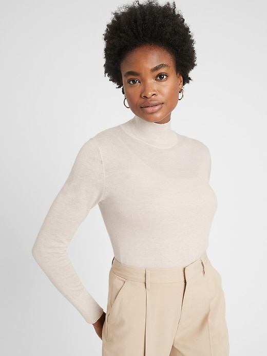 Petite Merino Turtleneck Sweater