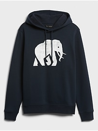 Banana Republic Factory Elephant Logo Hoodie