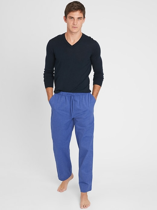 Banana Republic Factory Men's Poplin Pajama Pants