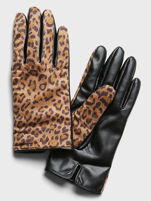 Cheetah Gloves