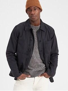 Work Wear Shirt Jacket