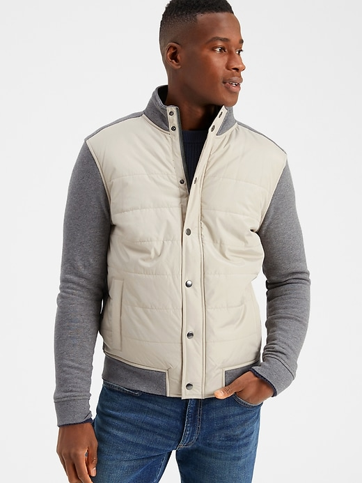 Banana Republic Factory Men's Puffer Jacket