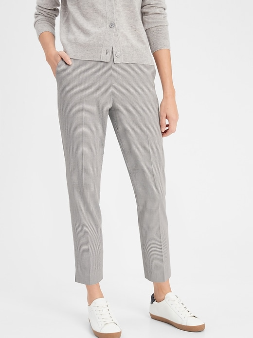 Petite Hayden Pull-On Soft Ankle Pant