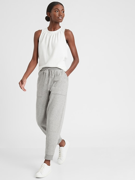 Knit Terry Jogger Pant