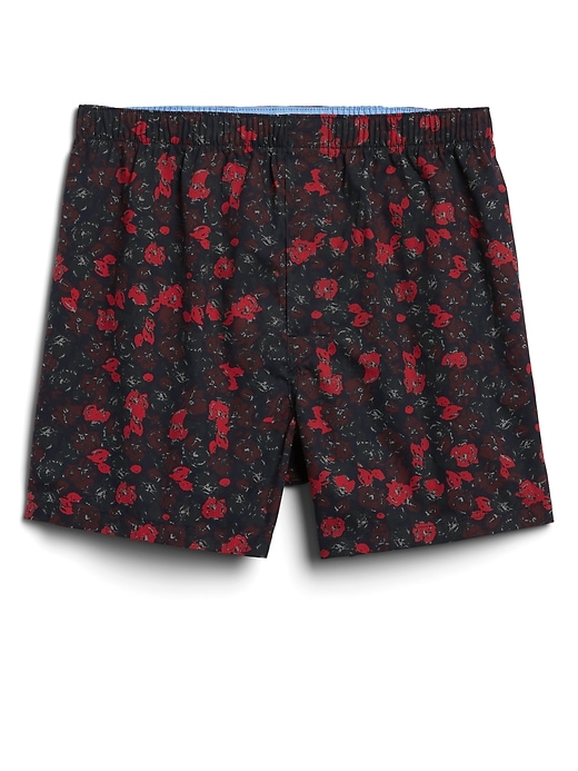 Floral Print Boxers